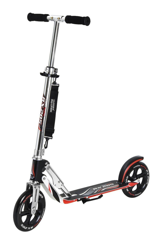 HUDORA Big Wheel RX 205 Kinder  Beste Scooter Super Durable Aluminium NEU