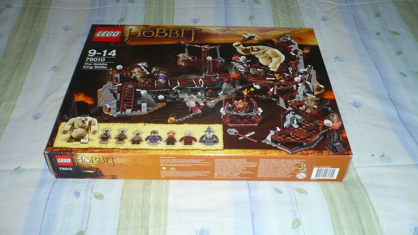 Lego LE HOBBIT 79010 THE GOBLIN KING BATTLE  neuf  SCELLé