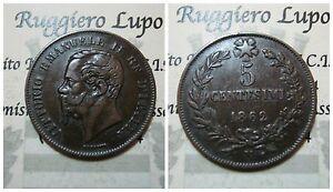 Vittorio-Emanuele-II-5-Cents-1862-Na-Naples-BB-Spl-Assessed