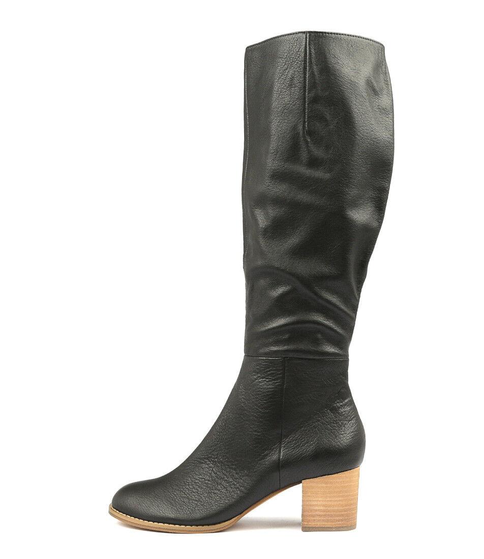 New Django & & & Juliette Sled Black Womens shoes Dress Boots Long 2713f4