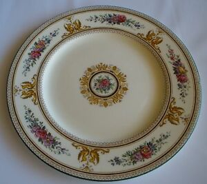 Image is loading Wedgwood-Columbia-W726-Dinner-Plates-10-5-034- & Wedgwood Columbia W726 Dinner Plates 10.5\