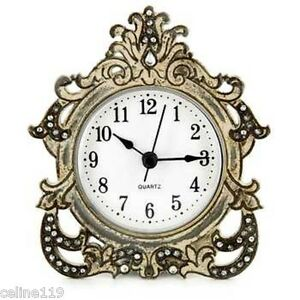 Antique-Gray-Decorative-Table-Clock-Home-Shop-Office