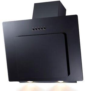 Campana-Extractora-sin-Cabezal-Cristal-Negro-Corriente-Descendente-60cm-Oblicua