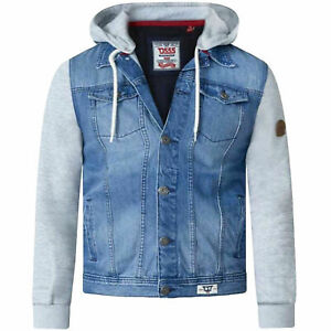 Duke-D555-Mens-Plus-Big-Size-Lester-Vintage-Blue-Drawstring-Hooded-Denim-Jacket