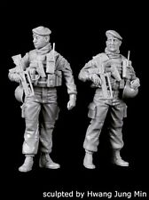Black Dog 1/35 French Soldiers Set w/FAMAS Patrol Paris 2016 Anti-Terror F35175