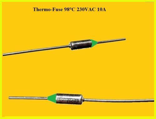 Temperature Control Thermal Fuse Fuse 98 ° C 250VAC 10A 770.098 2 Piece