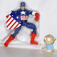 Marvel Legends Captain America Golden Age Brood Queen Series New Steve Rogers