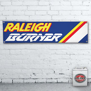RALEIGH-BURNER-BMX-Banner-1200x305mm-workshop-garage-man-cave-retro