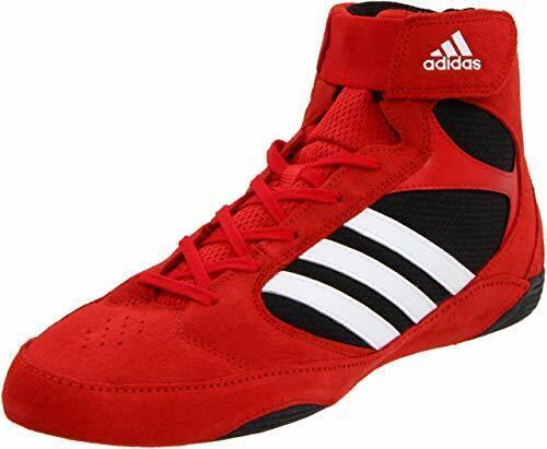New ADIDAS PRETEREO 2 Wrestling Shoes RedWhiteBlack   Size 11.5