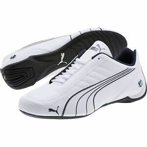 Details about NIB Men's PUMA BMW FUTURE CAT KART MS Leather Shoes 306216 02 SF White ULTRA