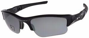 86db498c53e6f Oakley Flak Jacket XLJ Sunglasses 12-903 Jet Black   Black Iridium ...