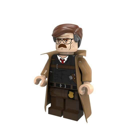 Commissioner Gordon Mini Figures NEW UK Seller Fits Major Brand Blocks Batman