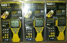 Lot Of 3 Klein Tools Vdv501 851 Scout Pro 3 Tester Starter Kits