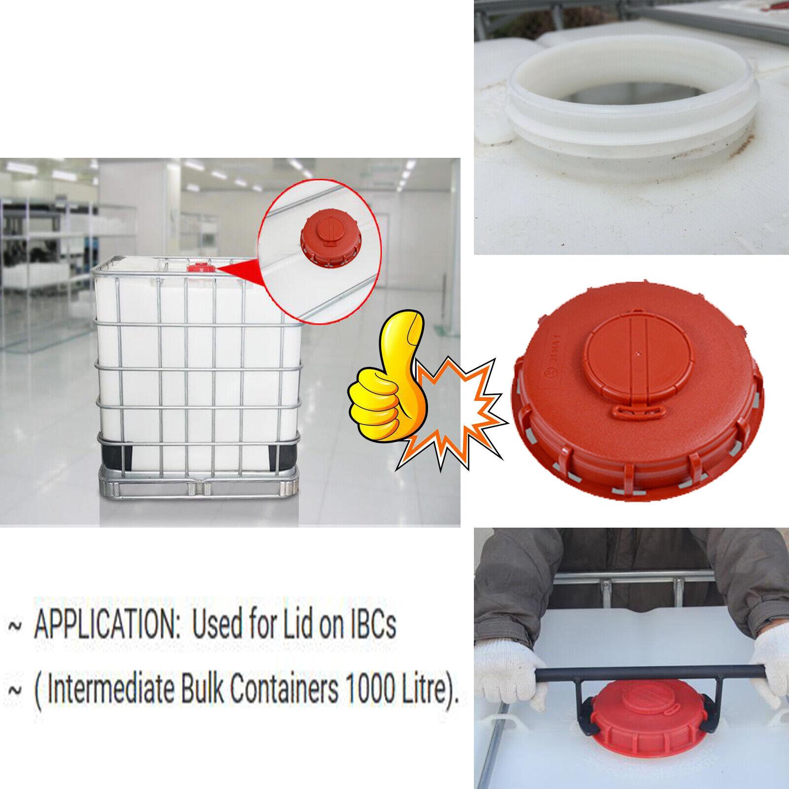 1000L IBC Water Tank Storage Vented Schutz Respiratory Cover Lid ,Heavy Duty