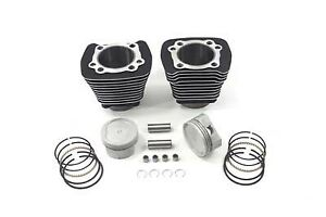 883-to-1200-Black-Cylinder-9-5-1-Piston-Big-Bore-Conversion-Kit-Harley-Sportster