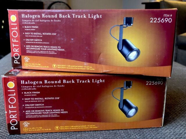 E138569 Halogen Track Light Fixtures