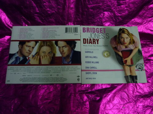 1 of 1 - BRIDGET JONE'S DIARY : MUSIC FROM THE MOTION PICTURE : (CD, 16 TRACKS, 2001)