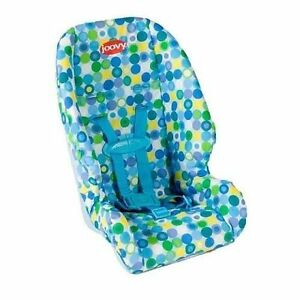 Joovy Doll Toy Booster Seat Blue Dot 877408000136
