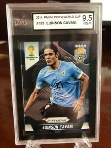 Panini Prizm World Cup 2014 Brazil - Base # 193 Edinson Cavani - KSA 9.5 NGM