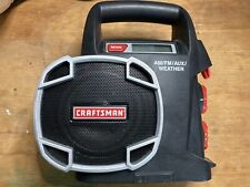 Craftsman C3 19.2 volt AM//FM//Weather Auxiliary RADIO 315.101260 TOOL ONLY