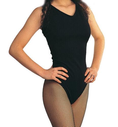 Adult Nylon Leotard Dance Fancy Dress Up Halloween Costume Accessory 2 COLORS