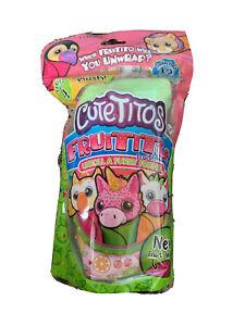 Cutetitos Fruititos Series 4 Cherrito Bear Plush Furry Fruity Friend