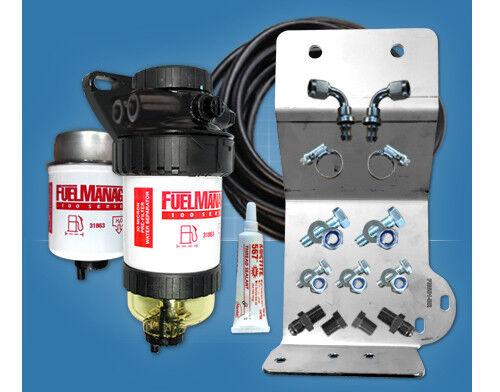 Pre Filter Kit Fuel Manager FM601DPK for Isuzu D-MAX II 3.0L 4JJ1TCX CRD 2012-on
