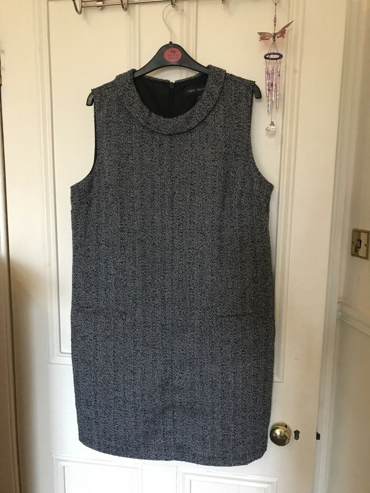 Next Womens Size 16 Tailored Work Dress