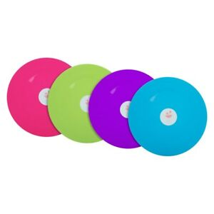REUSABLE-PLASTIC-PLATES-20-25CM-PARTY-PICNIC-BBQ-GARDEN-4-COLORS-to-CHOOSE-FROM