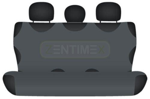 Sitzbezüge Foncé Gris Arrière Kos FIAT IDEA