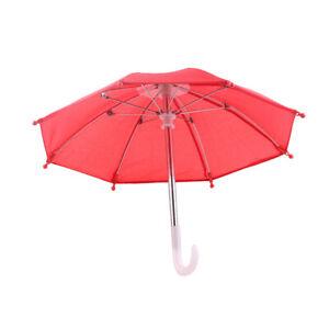 Mini Schirm Regenschirm Stockschirm Taschenschirm Puppenhaus für Puppe Zubehör
