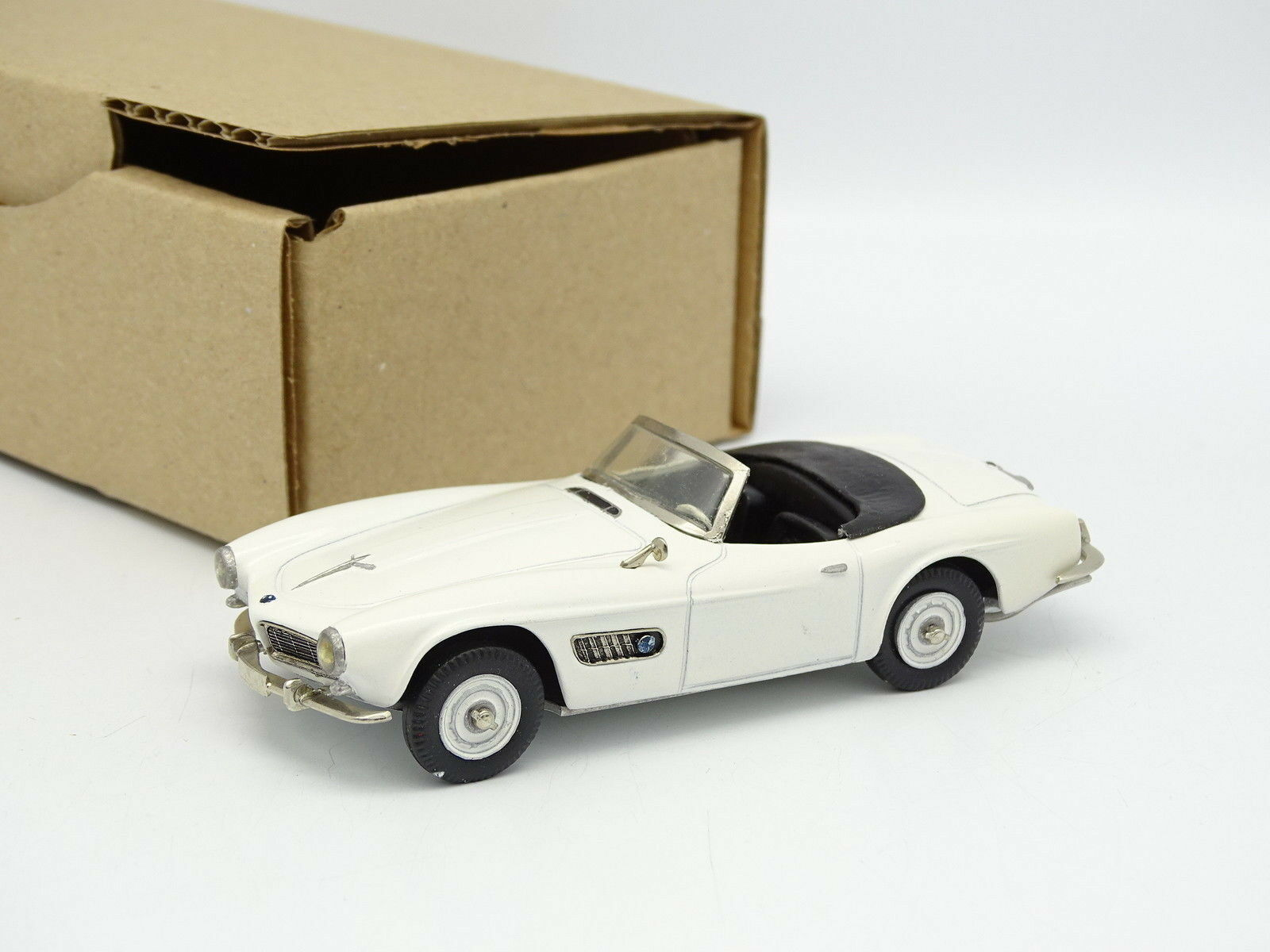 hermoso Oeste Modelos Plumbies Kit Montado Metal Metal Metal 1 43 - BMW 507 Cabriolet blancoo  envio rapido a ti