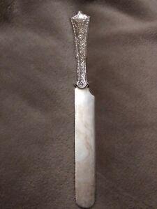 Antique-Tiffany-amp-Co-Persian-Pattern-Sterling-Silver-Breakfast-Knife-8-1-8-034-2