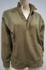 100 coton London Menswear kaki Pull Burberry 6aR4n