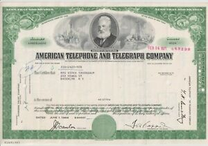 American District Telegraph Stock Certificate Company (ADT