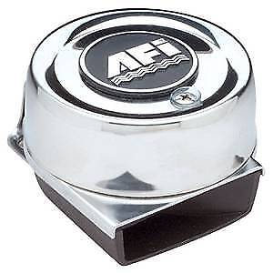 Marinco AFI 10011 CTD Compact Dual Trumpet Electric Horn 12V Stainless Marine