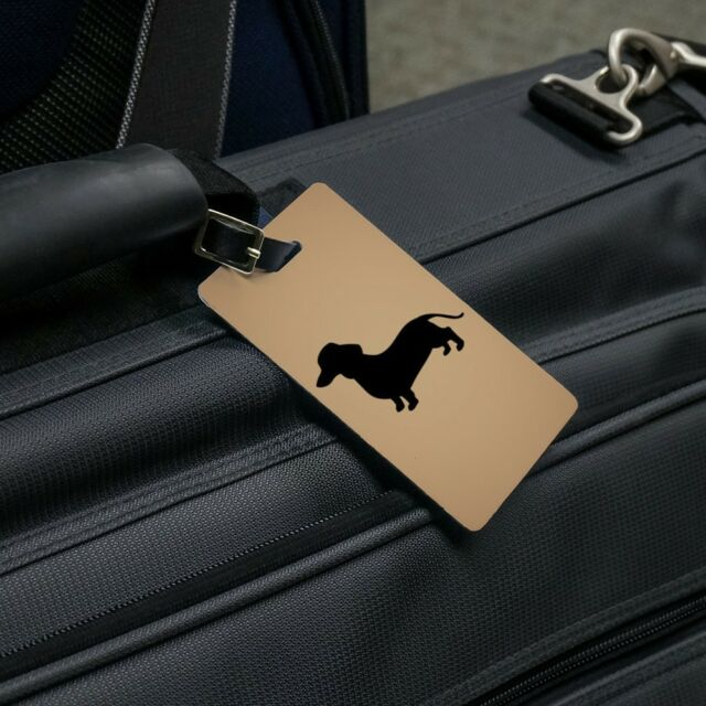 2 Pack Luggage Tags Dachshund Wiener Dog Cruise Luggage Tag For Travel Tags Accessories