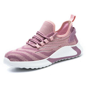 Steel Toe Boots Women Anti Smash Non Slip Anti Puncture Breathable Mesh