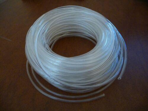 2 ou 5 mTuyau tube air eau PU transparent 4 x 2,5 mm Braun Oral Oxyjet