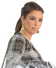 Chanel CC Coin Crystal Dangle Earrings As Seen On Kim Kardashian~My Poupette RS