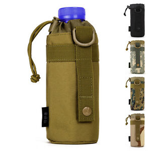550ML-Outdoor-Water-Bottle-Bag-Military-Men-Kettle-Set-MOLLE-Durable-Equipment