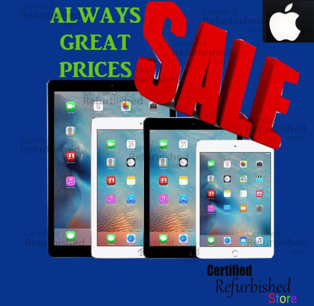 New Apple iPad Air-mini-1-2-3-4 128GB-64GB-32GB-16GB Wi-Fi+4G Pro Tablet 9.7.9
