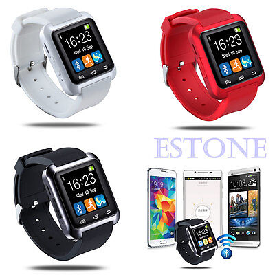 New U80 Bluetooth Smart Wrist Watch Sleep For Android&IOS Iphone Samsung LG Sony