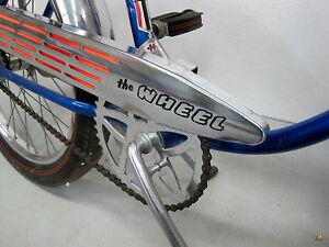 1-Huffy-Sticker-Black-034-The-Wheel-034-Rail-Muscle-Bike-Bicycle-Chainguard-DECAL