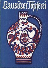 Lausitzer Töpferei. Staatliche Kunstsammlungen Dresden 1978