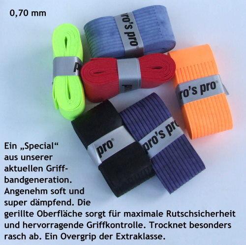 Großauswahl Overgrips: Griffband Overgrip einzel wählbar (für Racket Schläger...