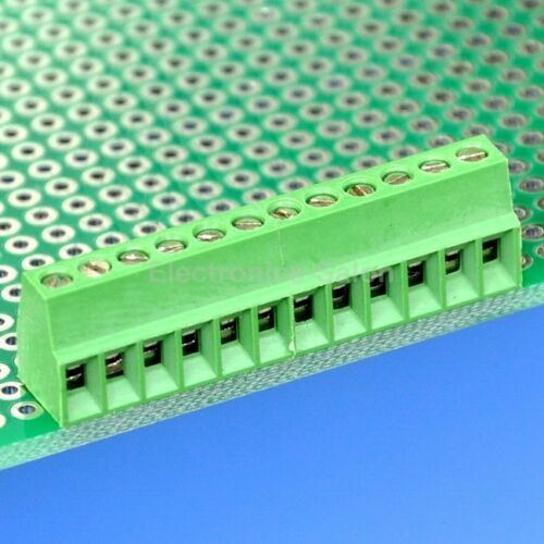"x100pcs 12 Poles 2.54mm//0.1/"" PCB Universal Screw Terminal Block"