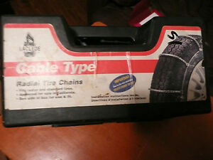New Laclede Cable Type Radial Tire Chains Radial And