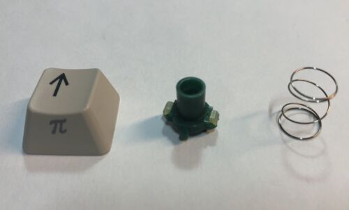 COMMODORE 128 C Replacement Key Up Pi With Spring Plunger Keyboard