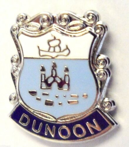 0196 Dunoon Argyll /& Bute Scotland Small Town Crest Pin Badge